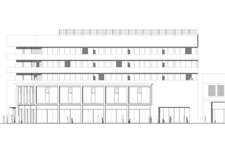 nieuw-gevelaanzicht-opgebouwd-kantoorgebouw