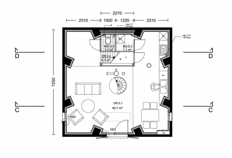 transformatie-watertoren-woonhuis-plattegrond